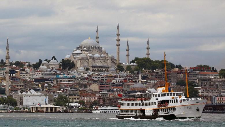 Foto: Pemandangan di Istanbul (Reuters)