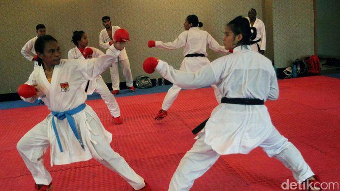 Pelatnas karate masih bingung jalankan pelatnas. (Lamhot Aritonang/detikSport)