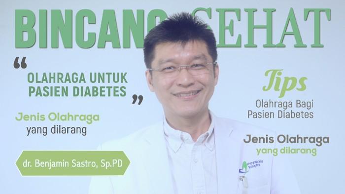 Pasien diabetes tetap dianjurkan untuk olahraga (Foto: 20detik)