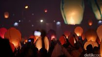 Ribuan Lampion Dilepaskan di Dieng, Airnav Terbitkan NOTAM