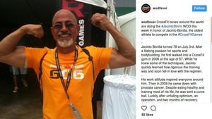 Wah, Jacinto Rayakan Ultah ke-78 dengan CrossFit
