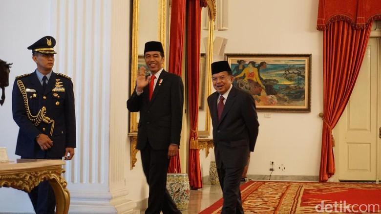 3 Tahun Pimpin RI Bersama Jokowi, JK Optimis Ekonomi Membaik