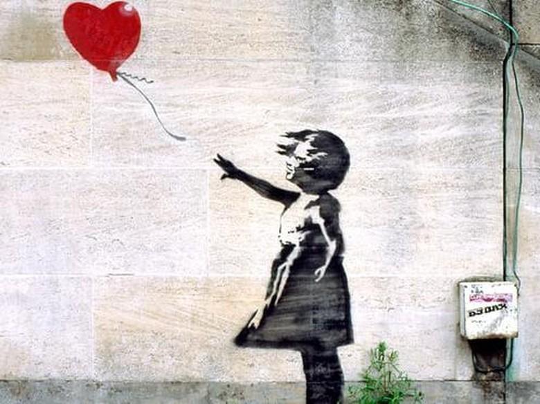 Sukses dengan Rp 20 M, Banksy akan Jual Karya Lain Rp 531 Juta