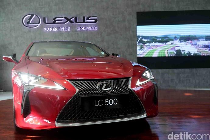 Mobil Mewah Lexus LC 500 Resmi Diluncurkan
