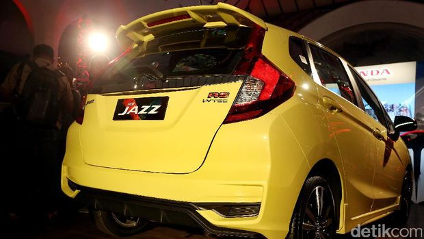 Bagian belakang Honda Jazz model 2017