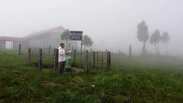 Desa Mawsynram (AFP/Biju Boro)