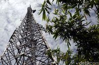 BTS Telkomsel di Entikong (Rachman Haryanto/detikTravel)