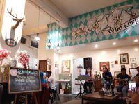 Wiki Koffie: Nikmatnya Menyeruput <i>Caramel Cafe Latte</i> Sambil Ngemil Pisgor Bangkok