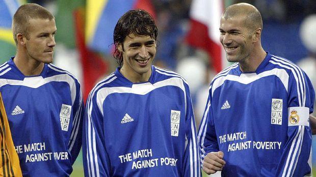 Raul Gonzalez bisa mengikuti jejak Zinedine Zidane.