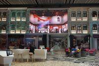 Mini theater di Terminal 4 Bandara Changi (Kanavino Ahmad Rizqo/detikTravel)