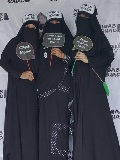 Mengenal Niqab Squad Komunitas Para Wanita Bercadar Di Indonesia