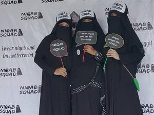 6  Momen Wanita Bercadar yang Jadi Sorotan di 2017