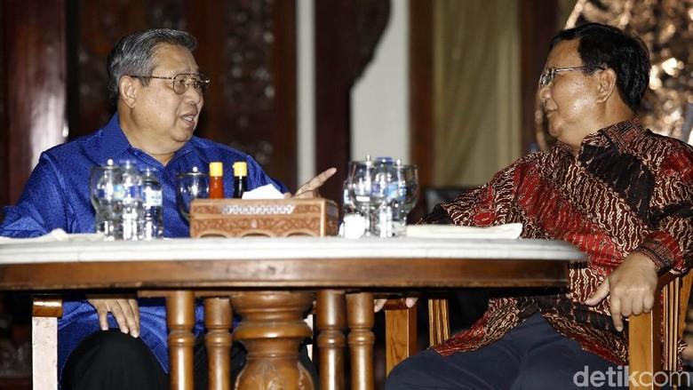 SBY dan Prabowo Akan Bertemu Malam Ini