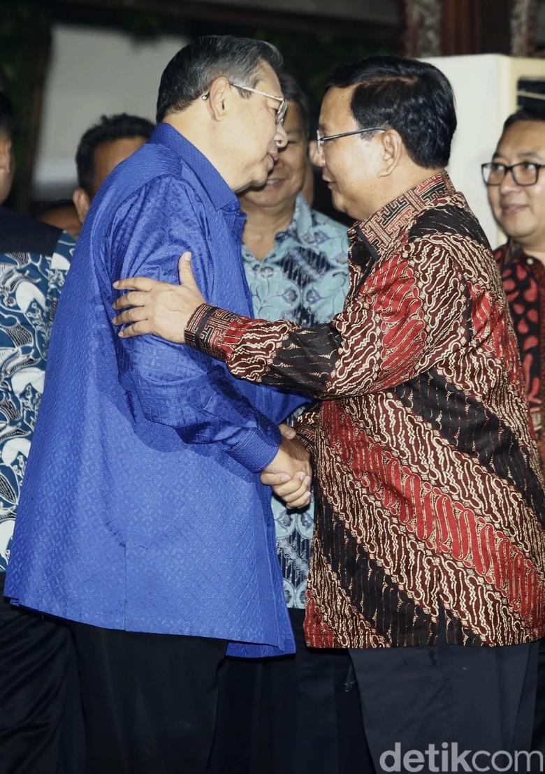 Gerindra: Prabowo akan Bertemu SBY Setelah Lebaran
