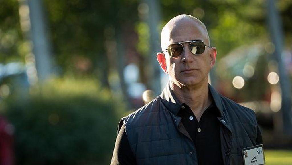 Jeff Bezos Malu Pesan Mesum Pada Selingkuhan Tersebar