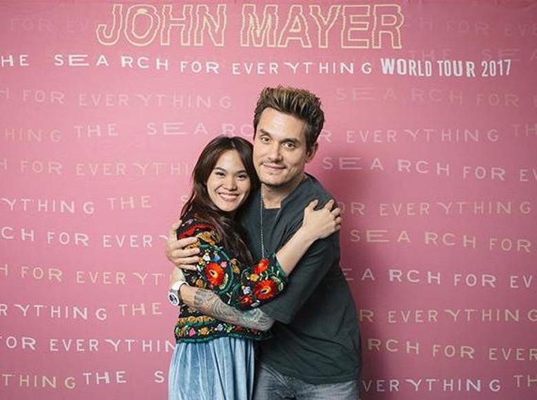 Idolakan John Mayer Sejak Kecil, Sheryl Sheinafia Dapat Kejutan