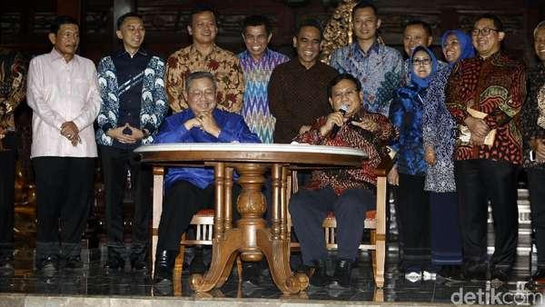 Ini Penjelasan PD Soal Kerja Sama Tanpa Koalisi SBY-Prabowo