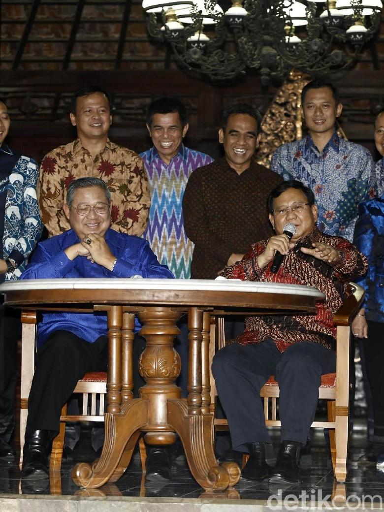 Demokrat: Secepatnya akan Ada Pertemuan SBY-Prabowo