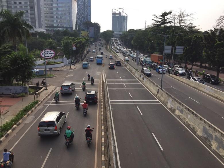 Ilustrasi: kondisi lalu lintas di Jakarta. Foto: Heldania Utri Lubis/detikcom