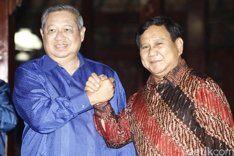 Gerindra: Prabowo akan Ajak Langsung SBY Berkoalisi