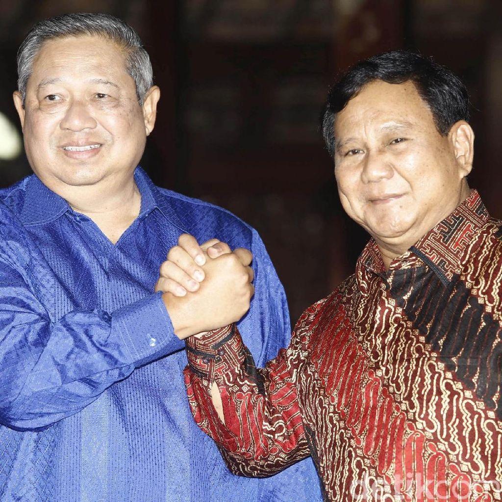 Elite PD-Gerindra akan Bertemu Sebelum Pertemuan SBY-Prabowo
