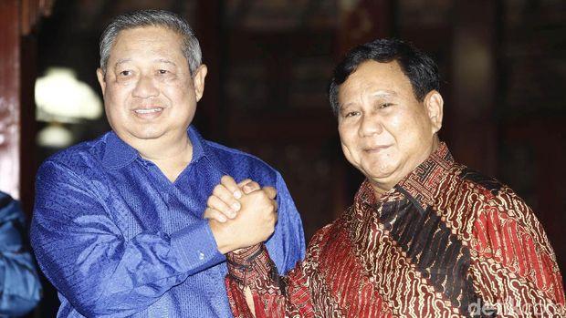 Pertemuan SBY dan Prabowo /