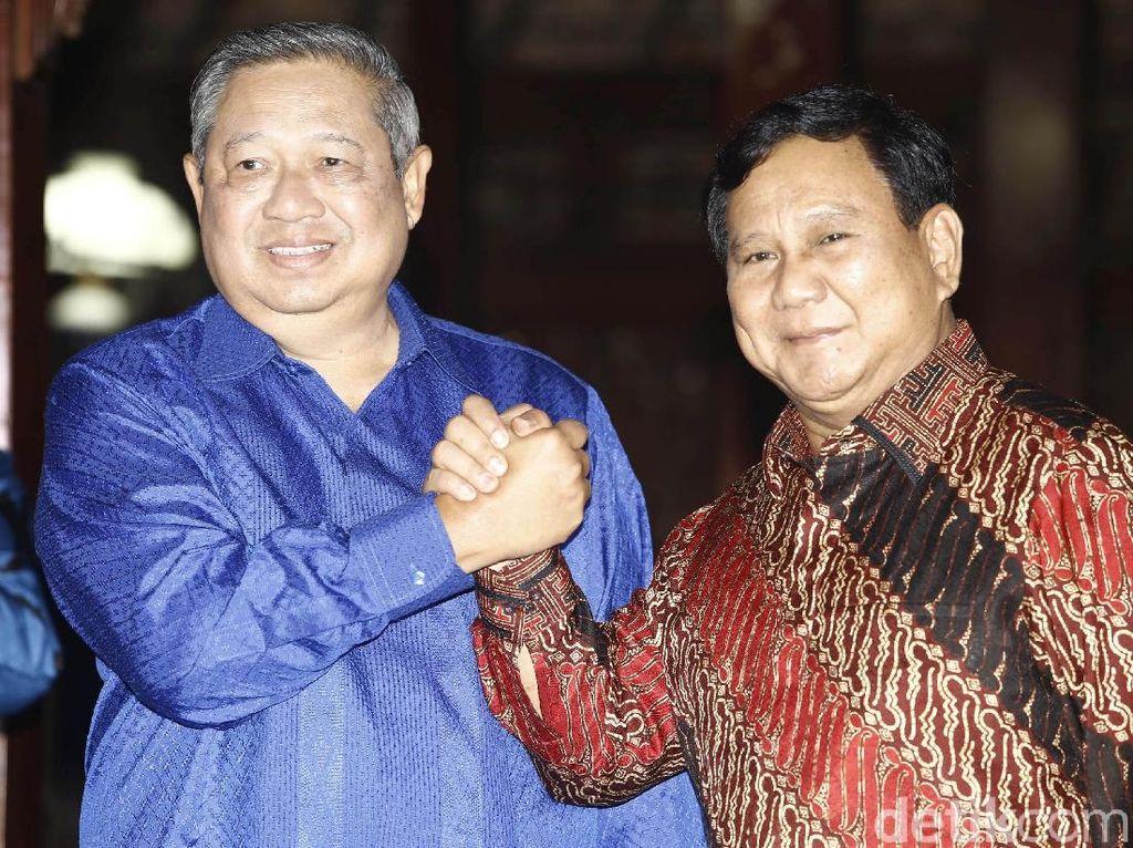 Jokowi Dukung Pertemuan SBY-Prabowo, Bagus Jika Berkoalisi