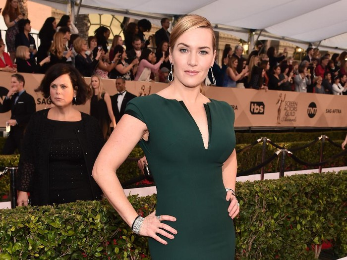 LOS ANGELES, CA - JANUARY 30:  Actress Kate Winslet attends the 22nd Annual Screen Actors Guild Awards at The Shrine Auditorium on January 30, 2016 in Los Angeles, California.  (Photo by Alberto E. Rodriguez/Getty Images)