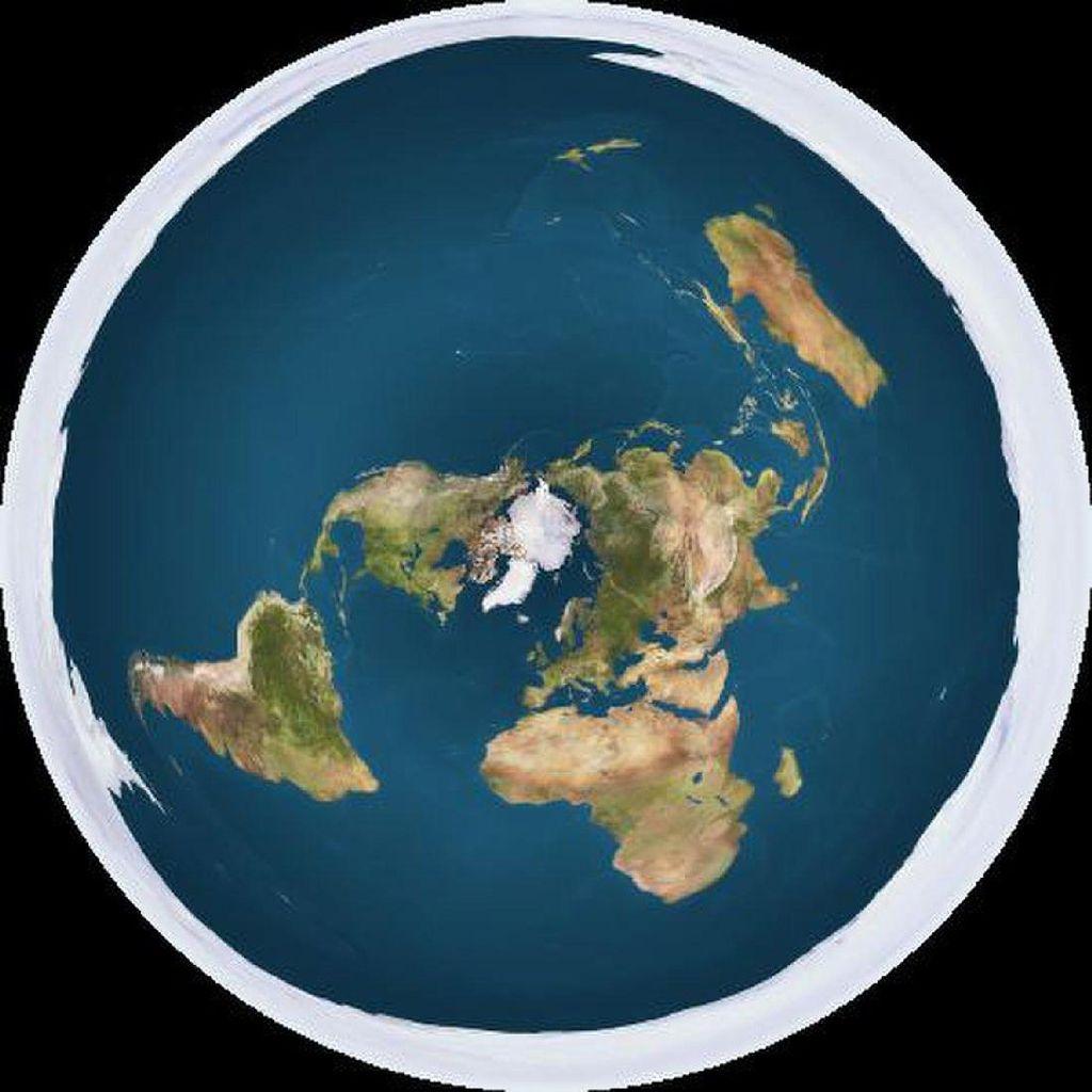 Penganut Flat Earth: Bumi Seperti Dunia Pac-Man