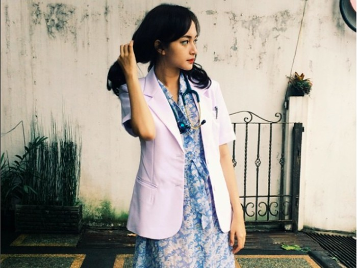 Calon dokter cantik, Indah Kusumaningrum juga pernah mengalami bullying. Foto: (Foto: Instagram @indahkus_)