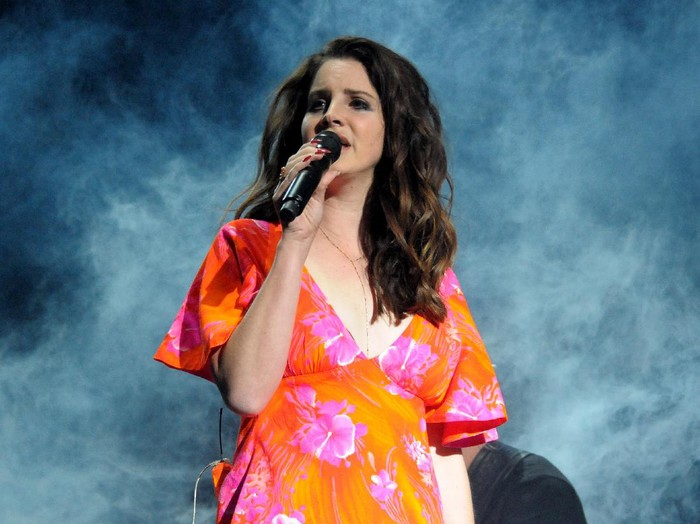 CARSON, CA - MAY 20:  Singer Lana Del Rey performs onstage at KROQ Weenie Roast y Fiesta 2017 at StubHub Center on May 20, 2017 in Carson, California.  (Photo by Alberto E. Rodriguez/Getty Images for CBS Radio Inc.)