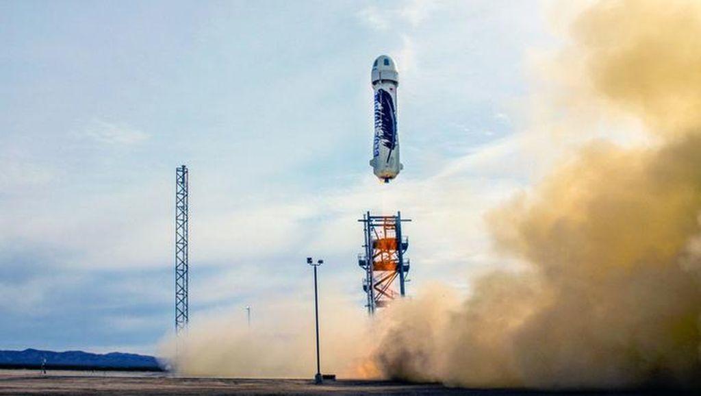 Blue Origin Jual Tiket Wisata ke Luar Angkasa di 2019, Minat?