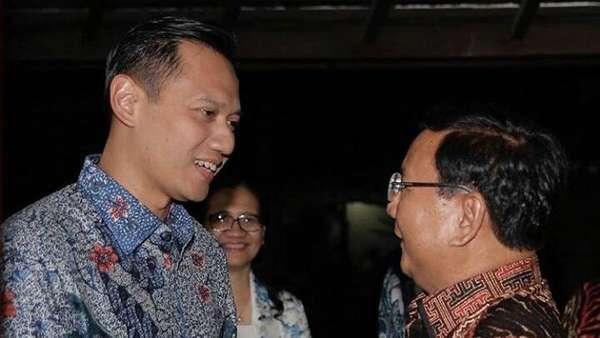 AHY Sempat Ngobrol 4 Mata dengan Prabowo, Apa yang Dibahas?