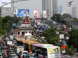Malas Jalan Kaki, Selamat Menikmati Macet DKI
