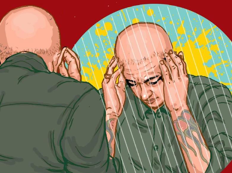 Chester Bennington Ilustrasi: Edi Wahyono