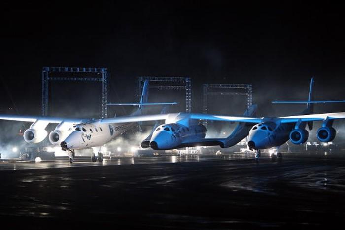 Pesawat Virgin Galactic. Foto: istimewa