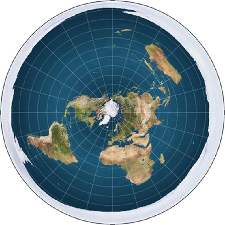 Teori Bumi Datar Viral di Medsos, Mau Kritis Malah Bingung Sendiri