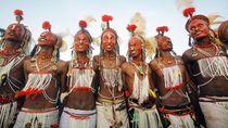 Foto: Kontes Kecantikan Pria Afrika