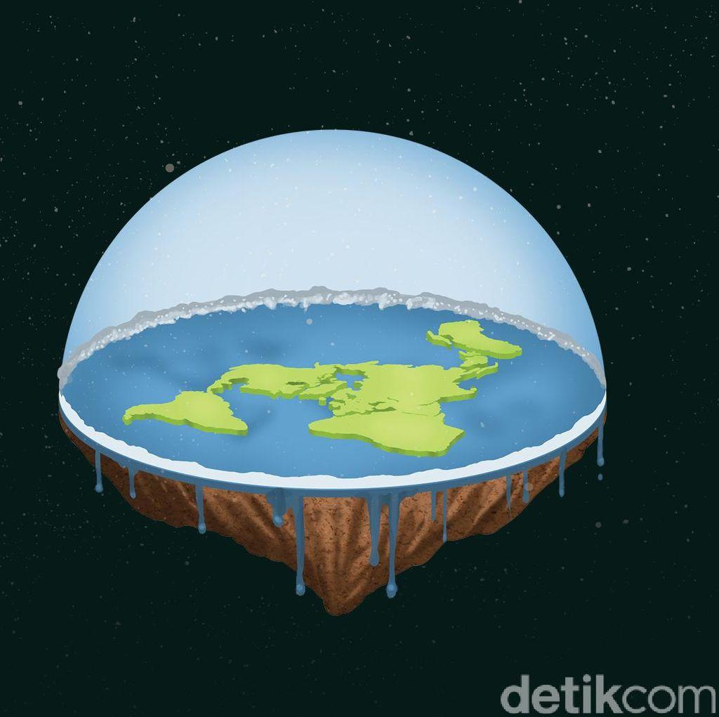 Komunitas Bumi Datar Punya Senjata Baru Buktikan Teorinya