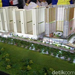Rumah Nempel Stasiun LRT Dijual Mulai Rp 260 Juta