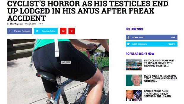 Beberapa kejadian tidak masuk akal yang menimpa pesepeda kerap diragukan kebenarannya.
