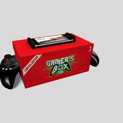 Kotak makan KFC sekaligus kontroler game. Foto: KFC