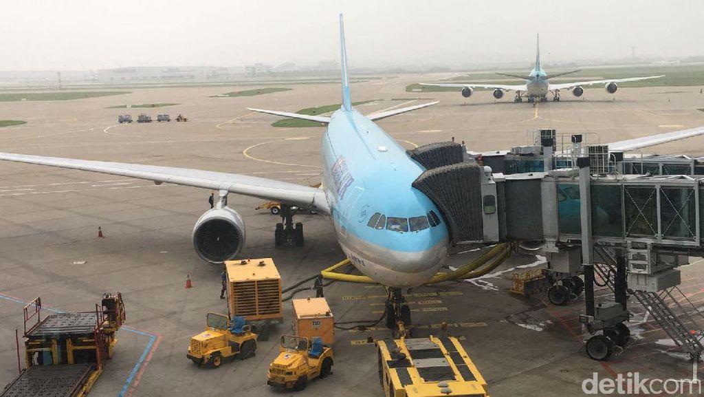 Keren! Korean Air Mulai Terbang ke Lombok