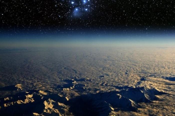 Ilustrasi Bumi datar. Foto: Internet