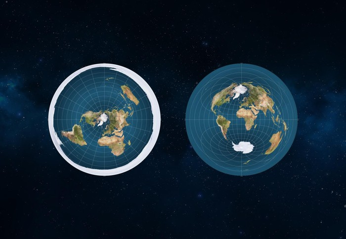 Mungkin Seperti Ini Penampakan Jika Bumi Datar
