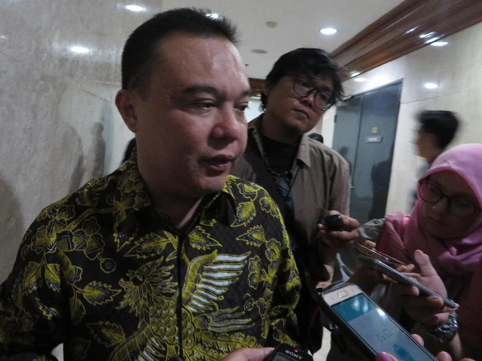 Ketua MKD DPR Sufmi Dasco Ahmad (Andhika/detikcom)