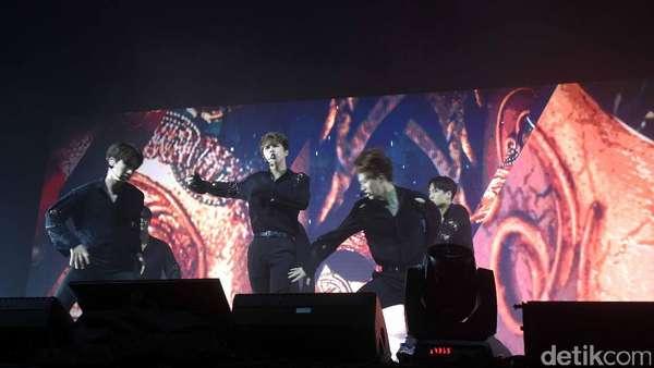 Gelar Fan Meeting di Jakarta, VIXX Sukses Bikin Fans Histeris