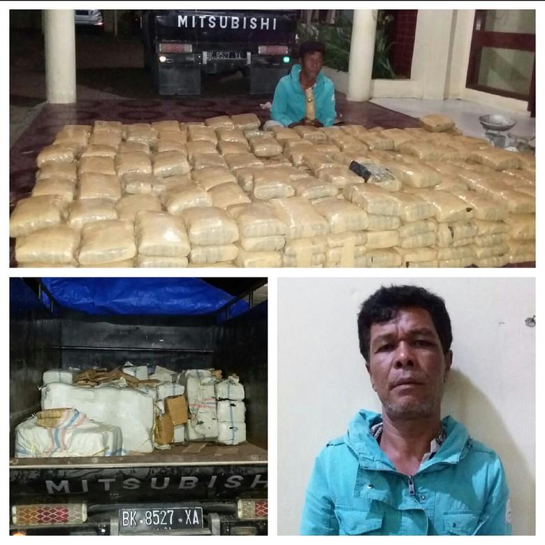 Angkut Ganja 480 Kg, Petani di Aceh Ditangkap