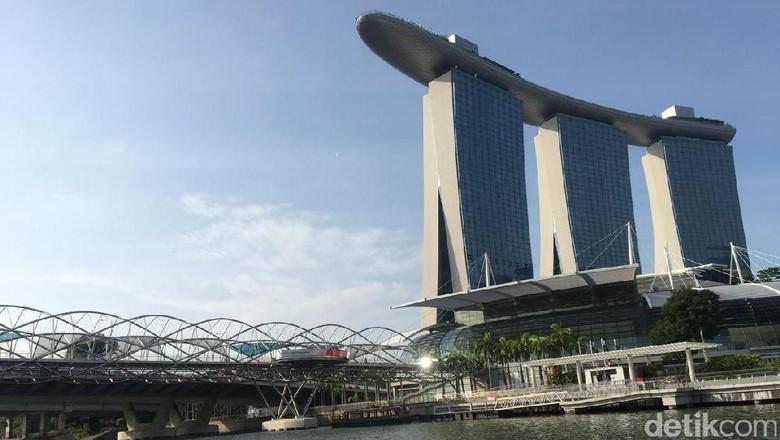 Marina Bay Sands Singapura (Muhammad Idris/detikTravel)