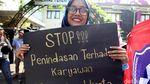 Karyawan TransJ Mengadu ke Komnas HAM